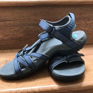 Teva Blue & Gray Sandal size 8
